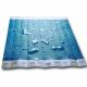 Tyvek Papierarmbänder unbedruckt mit Wasser an den Armbändern