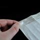 Trennpapier mit Silikon zum Schutz des Klebestreifens auf Tyvek-Papierarmbändern