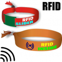 RFID textile wristbands