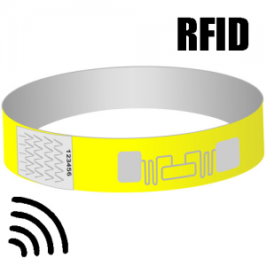 RFID paper wristbands