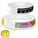 Papier-Armbänder mit Vollfarbdruck