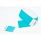 Abnehmbarer Stummel am Ende der Tyvek-Papier-Armbänder