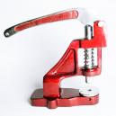 Tischpresswerkzeug zum Anpressen von Dichtungen an Textilarmbändern