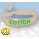 Textile Festival-Armbänder aus recyceltem PET-Polyester