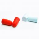 Earplugs made of polyurethane foam