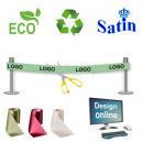 Entwerfen Sie online ein umweltfreundliches und nachhaltiges Einweihungsband.