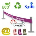 Umweltfreundliches und nachhaltiges Einweihungsband Via eMail.