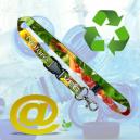 Nachhaltige und umweltfreundliche gedruckte schlüsselbänder