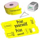 Rouleaux de tickets de vestiaire thermique direct pour imprimante JMB4+
