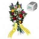 Imprimez comme vous voulez quand vous voulez, rubans de bouquet utilisant l'imprimante thermique JMB4+