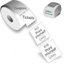 Drucken Sie Tickets und Gutscheine mit JMB4+ Thermodirektdrucker