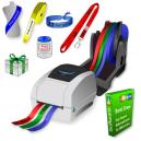 Imprimante thermique JMB4+ qui imprime sur des rouleaux de rubans de papier, de rubans de polyester et de rubans de polyprotex
