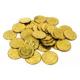 Münzen und Marken aus Messing