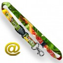 Lanyards mit Sublimationsdruck in Vollfarbe