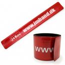 Slap Armbänder mit Ihrem Text und Logo