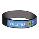 Velcro®-Armbänder mit gewebtem Streifen an der Oberseite