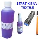 UV Start Kit zum Markieren von Textilbekleidung