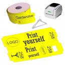 Direkte Thermo Garderobe Ticket Rollen für JMB4 Drucker