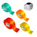 Rouleaux de ruban adhésif réfléchissant pour imprimante à transfert thermique JMB4+