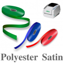 Schmale Polyester Satinbänder