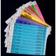 Bedruckte Festivalarmbänder in verschiedenen Farben