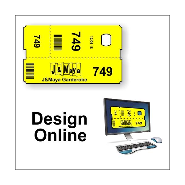 Garderobenkarten - Design online