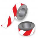 Nastro di barriera in rosso e bianco per eventi sportivi
