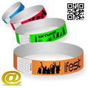 I braccialetti di carta inviano il tuo design e ottengono un layout.