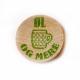 Gedruckte Wertmarken aus Holz