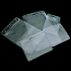 Kartentasche aus transparentem PVC
