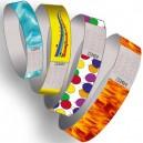 Papier-Armbänder mit Muster gedruckt