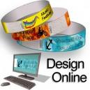 Papierarmbänder mit Musterdesign online