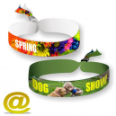 Textile Armbänder digital gedruckt, per eMail