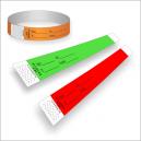 Papier-Armbänder mit Druck für ID