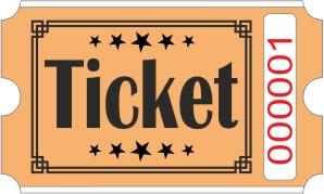 Ticketrollen - Orange