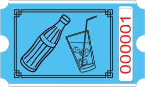 Flaschenrolle - Blau